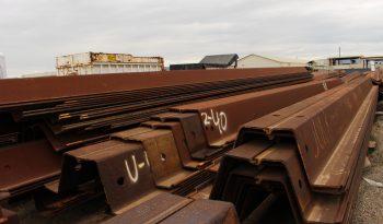 PZ40 sheet piles (43′-44′) full