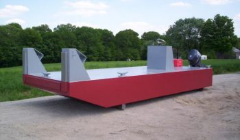 30' x 12' x 3' Section Barge Pusher / Work Boat full