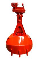 YRC-Series Hydraulic Round Nose Digging Clamshell Buckets full