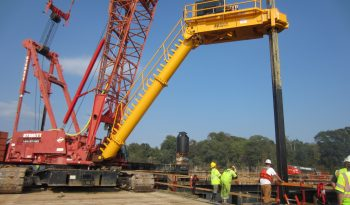 2018 Model 450T-3 Crane Mounted Drill 500,000 + ft/lbs Rotary Torque