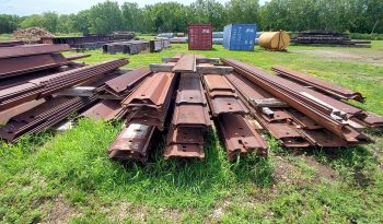 Sheet Pile Inventory Approx. 180/tons full